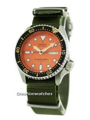 Seiko Automatic Divers 200M SKX011J8-NyG