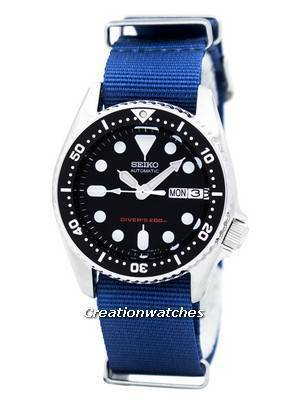 Seiko Automatic Diver's 200M NATO Strap SKX013K1-NATO6 Men's Watch