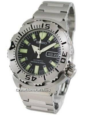 Seiko Automatic Monster Scuba Diver's 200m Made In Japan SKX779J1 Men's Watch