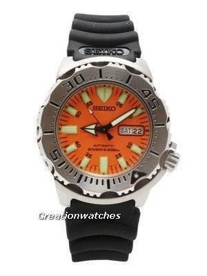Seiko Divers Automatic 200m Rubber Strap Orange Monster SKX781K3
