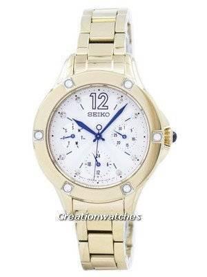 Seiko Quartz Diamond Accent SKY668 SKY668P1 SKY668P Women's Watch