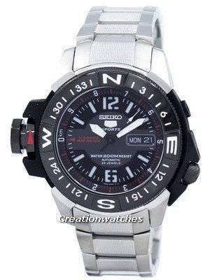 Seiko 5 200m Automatic Map Meter SKZ229 SKZ229K1 SKZ229K Men's Watch