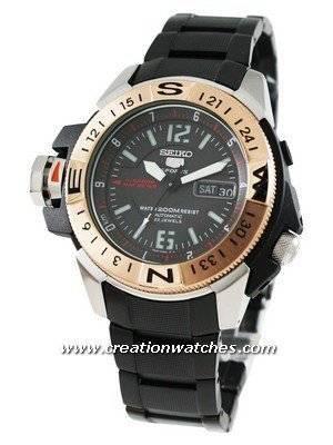 Seiko 5 Sports Automatic Map Meter SKZ320K1 SKZ320 SKZ320K Men's Watch