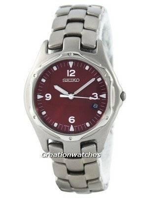 Seiko Titanium Quartz SLC043 SLC043P1 SLC043P Men's Watch
