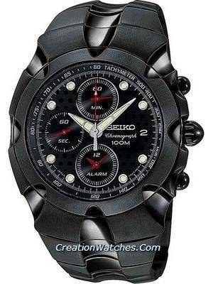 Seiko Men's Alarm Chronograph SNA765P1 SNA765P SNA765