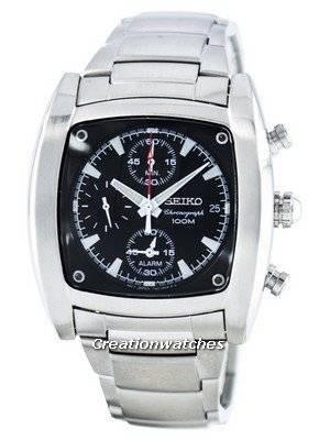 Seiko Quartz Chronograph Alarm SNAA97 SNAA97P1 SNAA97P Men's Watch
