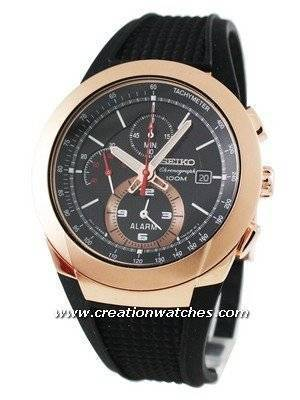 Seiko Alarm Chronograph SNAB50P1 SNAB50 SNAB50P Men's Watch