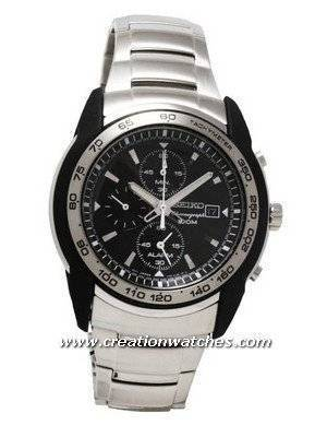 Seiko  Alarm Chronograph Tachymeter SNAB95P1 SNAB95P SNAB95 Men's  Watch
