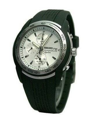 Seiko Alarm Chronograph SNAB99P1 SNAB99P SNAB99 Men's Watch