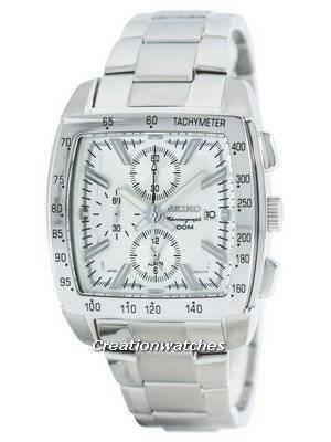 Seiko Quartz Alarm Chronograph Tachymeter SNAC23 SNAC23P1 SNAC23P Men's Watch