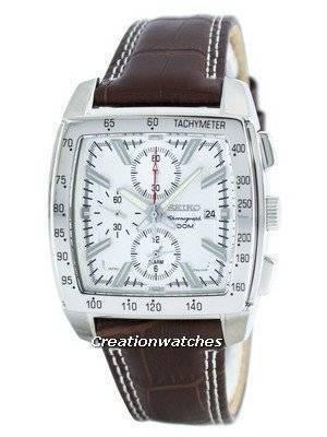 Seiko Quartz Alarm Chronograph Tachymeter SNAC27 SNAC27P1 SNAC27P Men's Watch