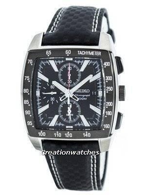 Seiko Quartz Alarm Chronograph Tachymeter SNAC31 SNAC31P1 SNAC31P Men's Watch