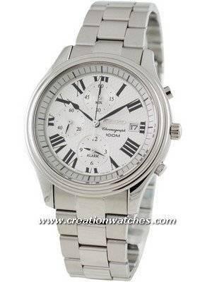 Seiko Alarm Chronograph SNAC77P1 SNAC77P SNAC77 Men's Watch