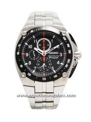 Seiko Sportura Alarm Chronograph SNAD23P1 SNAD23P Men's Watch