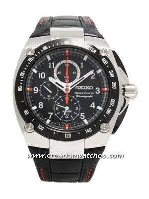 Seiko Sportura Chronograph SNAD23P2 SNAD23P SNAD23 Men's Watch