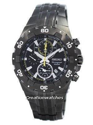 Seiko Alarm Chronograph SNAD37 SNAD37P1 SNAD37P Men's Watch