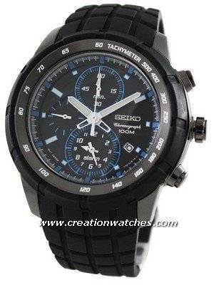 Seiko Chronograph Alarm SNAD87P1 SNAD87P SNAD87 Men's Watch