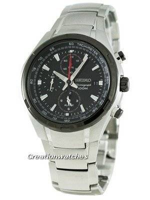 Seiko Alarm Chronograph SNAE43P1 Mens Watch
