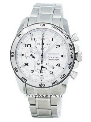 Seiko Sportura Chronograph Alarm SNAE59P1 SNAE59 SNAE59P Mens Watch