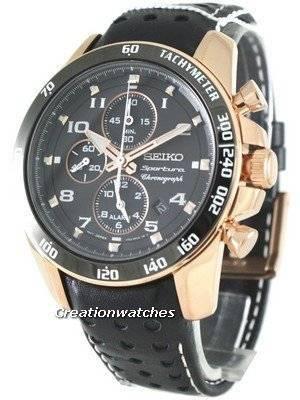 Seiko Sportura Chronograph SNAE80P1 SNAE80P Mens Watches