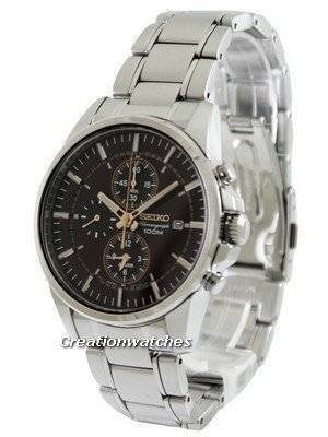 Seiko Chronograph SNAF05P1 SNAF05P SNAF05 Men's Watch
