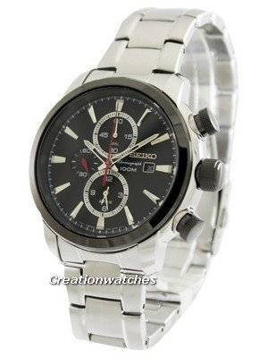 Seiko Chronograph SNAF47P1 SNAF47P SNAF47 Men's Watch