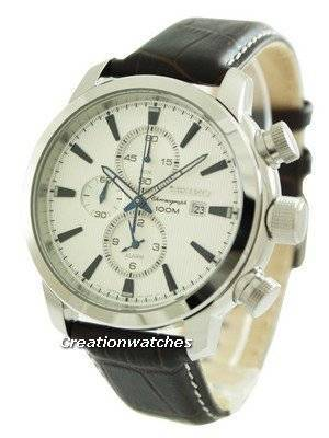 Seiko Neo Sport Chronograph 100M SNAF51 SNAF51P1 SNAF51P Men's Watch