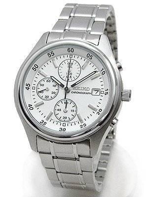 Seiko Chronograph SND217 SND217P1 SND217P Men's Watch