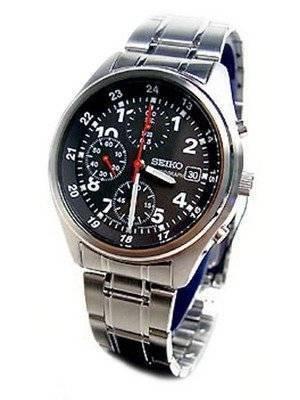 Seiko Chronograph SND225 SND225P1 SND225P Men's Watch