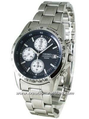 Seiko Chronograph SND365P1 SND365 SND365P Men's Watch