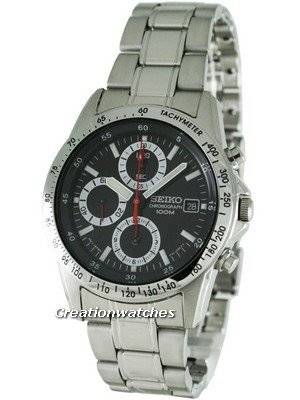 Seiko Daytona Chronograph SND371P1 SND371 SND371P Men's Watch