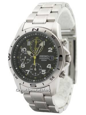 Seiko Chronograph SND377P1 SND377 SND377P Men's Watch