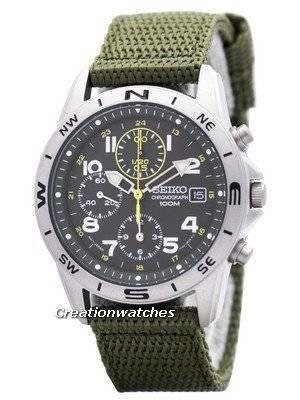 Seiko Quartz Chronograph SND377P2 Men's Watch