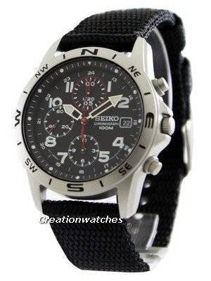 Seiko Chronograph SND399P1 SND399P SND399 Men's Watch
