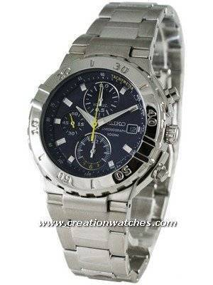 Seiko Chronograph SND679P1 SND679 SND679P Men's Watch