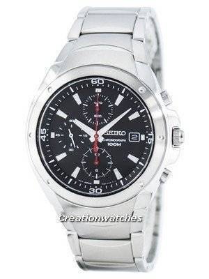 Seiko Quartz Chronograph SND781 SND781P1 SND781P Men's Watch