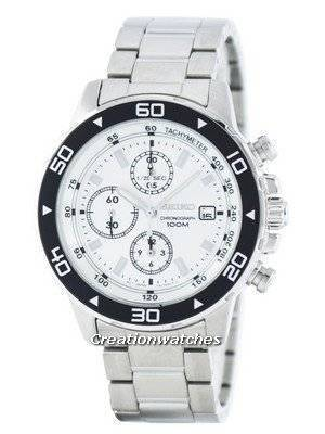 Seiko Quartz Chronograph Tachymeter SND797 SND797P1 SND797P Men's Watch