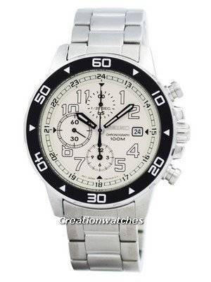 Seiko Chronograph Tachymeter SNDA05 SNDA05P1 SNDA05P Men's Watch