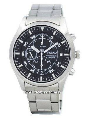 Seiko Military Chronograph SNDA19P1 SNDA19P SNDA19 100M Watch