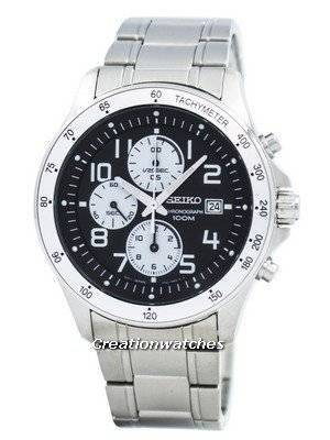Seiko Chronograph Motor Sports SNDA79P1 SNDA79P SNDA79 Men's Watch