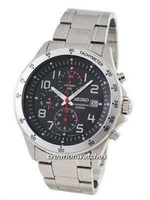 Seiko Chronograph SNDA81P1 SNDA81P SNDA81 Men's Watch