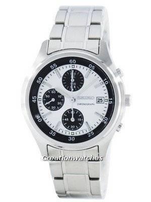 Seiko Quartz Chronograph SNDB09 SNDB09P1 SNDB09P Men's Watch