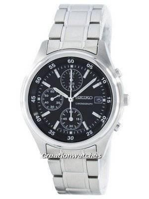 Seiko Quartz Chronograph SNDB11 SNDB11P1 SNDB11P Men's Watch