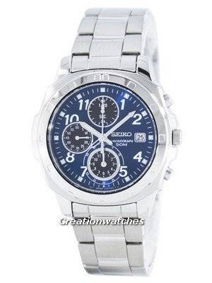 Seiko Quartz Chronograph SNDB37 SNDB37P1 SNDB37P Men's Watch