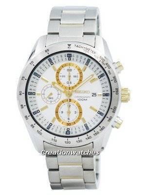 Seiko Chronograph Quartz SNDB55 SNDB55P1 SNDB55P Men's Watch