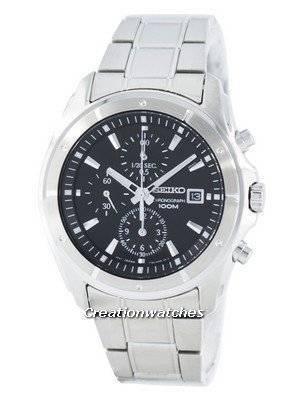 Seiko Quartz Chronograph SNDB65 SNDB65P1 SNDB65P Men's Watch
