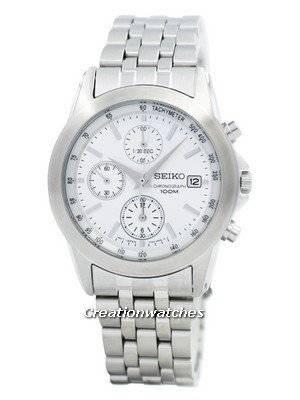 Seiko Chronograph SNDC05 SNDC05P1 SNDC05P Men's Watch
