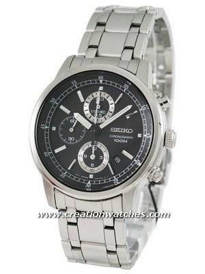 Seiko Chronograph SNDC27P1 SNDC27 SNDC27P Men's Watch