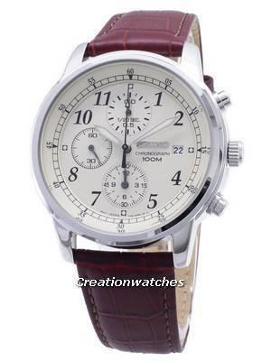 Seiko Chronograph SNDC31 SNDC31P1 SNDC31P Men's Watch