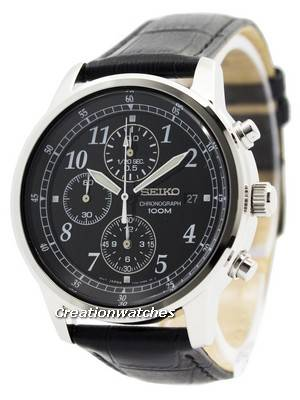 Seiko Chronograph SNDC33 SNDC33P1 SNDC33P Men's Watch